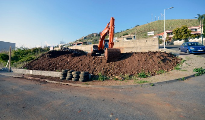 House in Ajuda – beginning ofconstruction