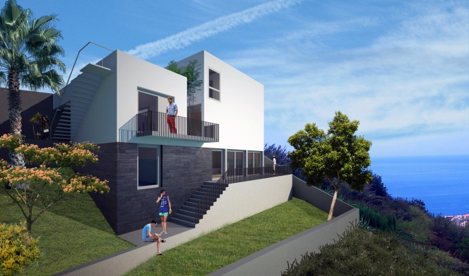 New project: residence and dentalpractice